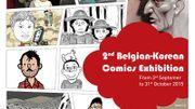 La BD belge et coréenne, deux univers proches exposés à Bruxelles