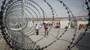Un camp de réfugiés en Turquie, près de la frontière syrienne