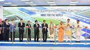 Samsung inaugure la plus grande usine de smartphone au monde