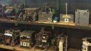 Les robots des années précédentes dorment aujourd'hui sur des étagères de la Polytech