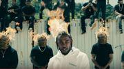 """Kendrick Lamar s'enflamme dans le clip de """"Humble"""""""