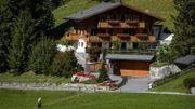 Le chalet de Johnny Hallyday à Gstaad