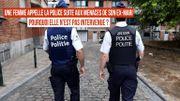 Femme battue à Anderlecht : pourquoi la police de Bruxelles-Midi n'intervient pas ?