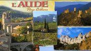 Carte postale de l'Aude, Pays Cathare