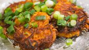 Röstis de carottes sauce yaourt & plie à l'orange et carottes à la marocaine
