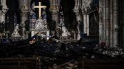 Notre-Dame de Paris: les images de la cathédrale un mois après l'incendie