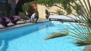 Les piscines vertes à cause de la chaleur