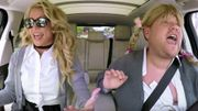 Britney Spears dans le karaoké en covoiturage de James Corden