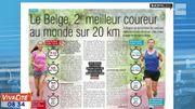 Le Belge, 2ème meilleur coureur au monde sur 20km