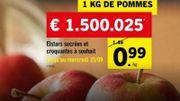 Des pommes à 1500 € et des raisins à 22.000 € chez Lidl: l'hyperbole publicitaire