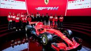 Ferrari avec sa SF71-H pour reconquérir un titre qui lui échappe depuis 2008