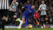 Chelsea, avec Hazard en faux 9 et à l'assist, s'impose face à Newcastle