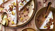 Recette: Iles flottantes chocolat au lait et fruit de la passion
