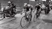 Eddy Merckx et Roger De Vlaeminck en 1973