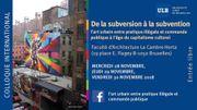 """""""L'art urbain entre pratique illégale et commande publique"""""""