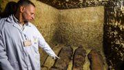 L'Egypte dévoile des momies datant de la période hellénistique