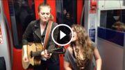 [Zapping 21] Deux musiciennes enflamment le métro en reprenant Prince