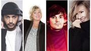 Les 4 nouveaux coaches de The Voice Belgique en interview dans Quoi de Neuf?! (Vidéo)