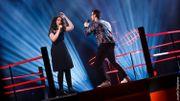 Zainab et Thomas transportent le public avec leur reprise de 'Paris-Seychelles'