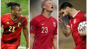 Michy Batshuayi, Aleksandar Mitrovic, Erling Haaland, ces buteurs double face