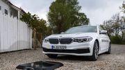BMW lance la recharge sans fil pour ses voitures