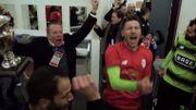 Venanzi a fait chanter le vestiaire rouche après la victoire en Coupe