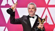 """Sur dix nominations, Alfonso Cuaron a remporté trois statuettes dorées pour son film """"Roma""""."""