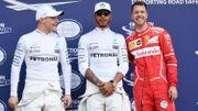 Hamilton s'offre la pole position en Australie, Vettel et Bottas dans le coup