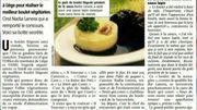 La Revue de Presse : un boulet liegeois végétarien au tofu, ça vous tente?