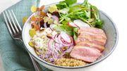 Recette: Petite salade de noisette d'agneau