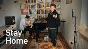 Le contre-ténor Jakub Józef Orlinski nous invite en musique à rester chez nous