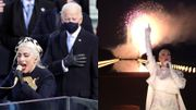 Investiture US : Lady Gaga, le feu d'artifice avec Katy Perry, John Legend, Justin Timberlake,Foo Fighers...