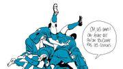 Le Football: le regard acéré de Bastien Vivès!