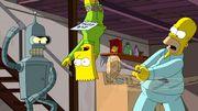 """""""Les Simpson"""" et """"Futurama"""" se rencontrent dimanche à la télévision américaine"""