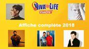 Découvrez l'affiche complète des artistes présents à Viva for Life!
