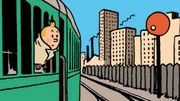 Franc succès pour l'exposition consacrée à Hergé au Train World