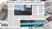 Viva For Life à Nivelles : les premières photos du cube !