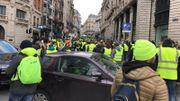 Gilets jaunes à Bruxelles: la gare centrale partiellement fermée, 60 arrestations (photos)