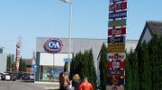 Le zoning de Jemeppes, à quelques minutes du centre d'Auvelais