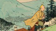 Une rare aquarelle d'Hergé mise en vente aux enchères