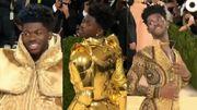 Look insolite: le rappeur Lil Nas X dans une tenue 3 en 1 au Gala Metropolitan