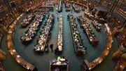 Lampes, tables, colonnes..: la BNF propose au public d'adopter un meuble