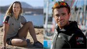 Emma Plasschaert et Jonas Gerckens élus marin de l'année