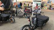 Des vélos cargo qui pourraient un jour remplacer la voiture
