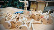 Customisez un petit bonhomme de bois pour soutenir les Infirmiers de rue