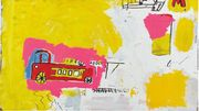 "L'oeuvre de Basquiat ""Pink Elephant with Fire Engine"" estimée à 5 millions de dollars"