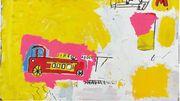 """L'oeuvre de Basquiat """"Pink Elephant with Fire Engine"""" estimée à 5 millions de dollars"""