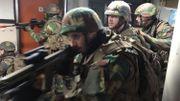 Prise d'otages dans une école à Malmedy: un exercice grandeur nature de l'armée