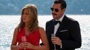 "Jennifer Aniston, Dany Boon et Adam Sandler réunis par Netflix dans ""Murder Mystery"""