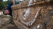 A Tel-Aviv, des sarcophages romains oubliés sont redécouverts… dans un zoo